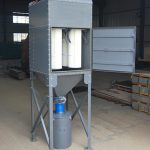 Vertical Cartridge Dust Collector for Abrasive Blasting