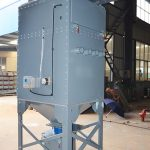 Vertical Cartridge Dust Collector for Carbon Black