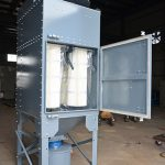 Vertical Cartridge Dust Collector for Grinding