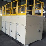 Vertical Cartridge Dust Collector for Gypsum