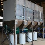 Vertical Cartridge Dust Collector for Plasma Cutting