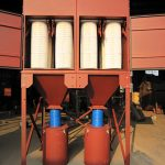 Vertical Cartridge Dust Collector for Plastic