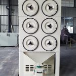 Small Cartridge Dust Collector For Polishing