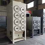 Small Cartridge Dust Collector For Sand Blast