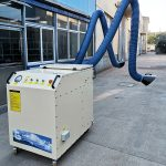Mobile Dust Collector with Extraction Arm