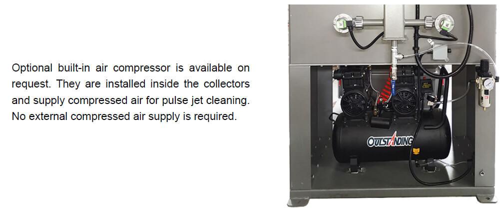 Built-in Air Compressor