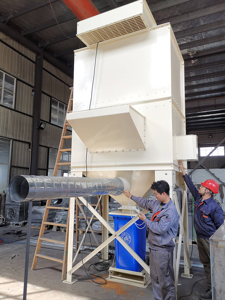 Dust Collector Pressure Test