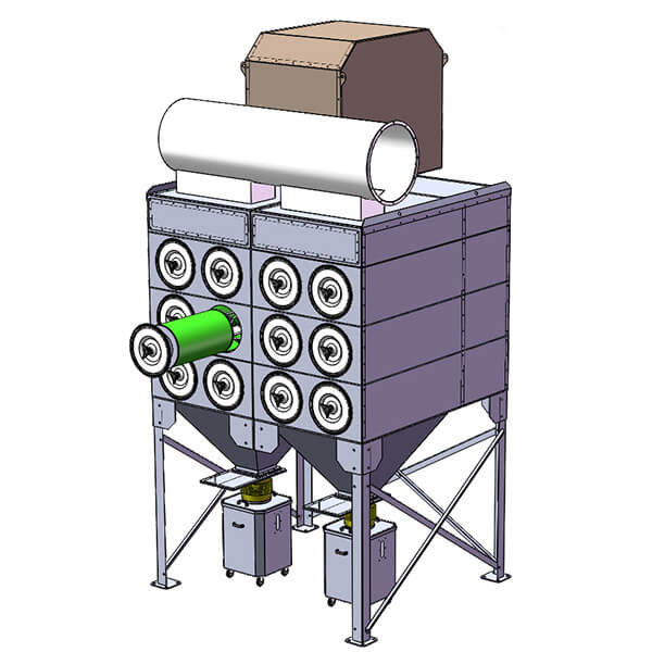 Horizontal Cartridge Dust Collector