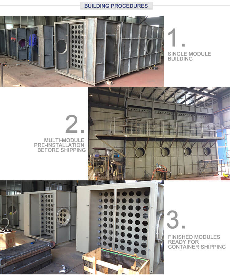 Modular Baghouse Dust Collector Building
