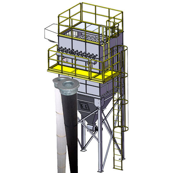 Pleated Bag Dust Collector