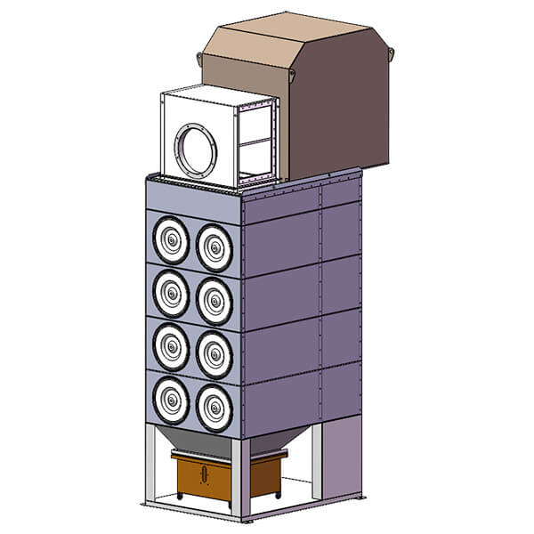 Small Cartridge Dust Collector